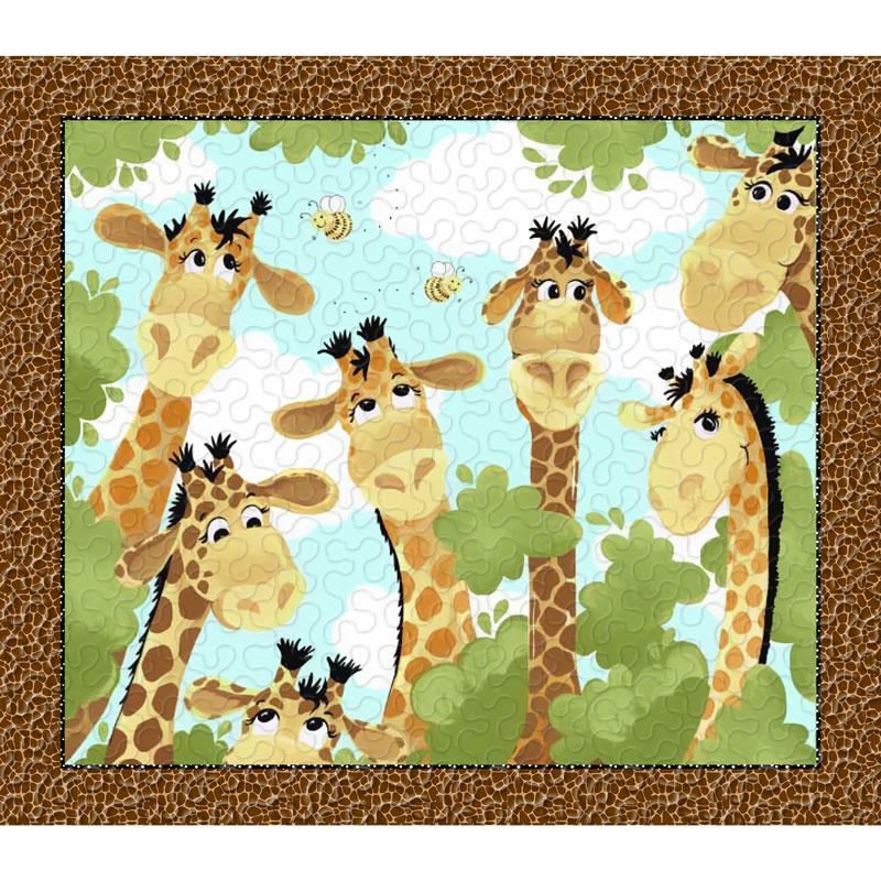 Zoe the Giraffe Play Mat Kit