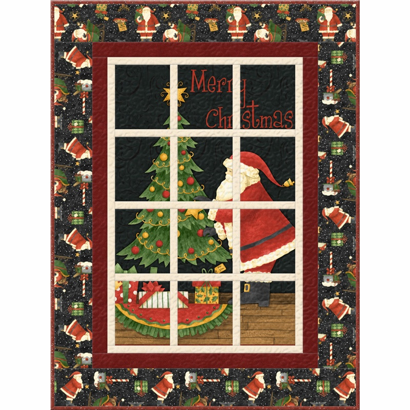 Santas big night wallhanging kit
