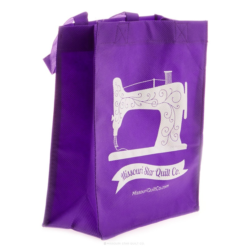MSQC Small Shopping Tote Purple