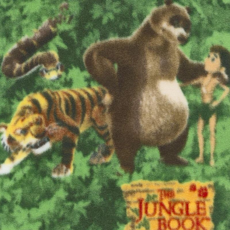 Winterfleece Prints Children - Bear Hugs Jungle Book Multi Fleece Yardage
