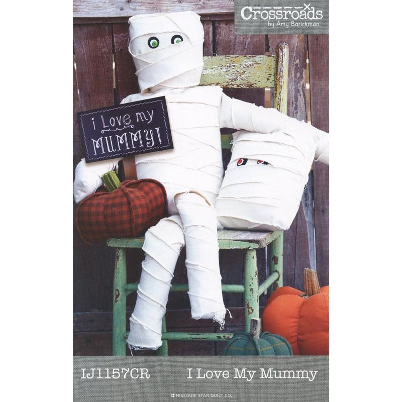 I Love My Mummy Pattern