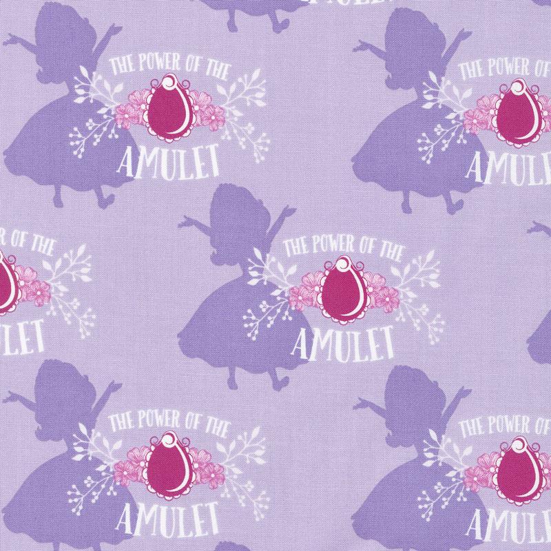 Sofia the First - Amulet Pastel Lavender Yardage