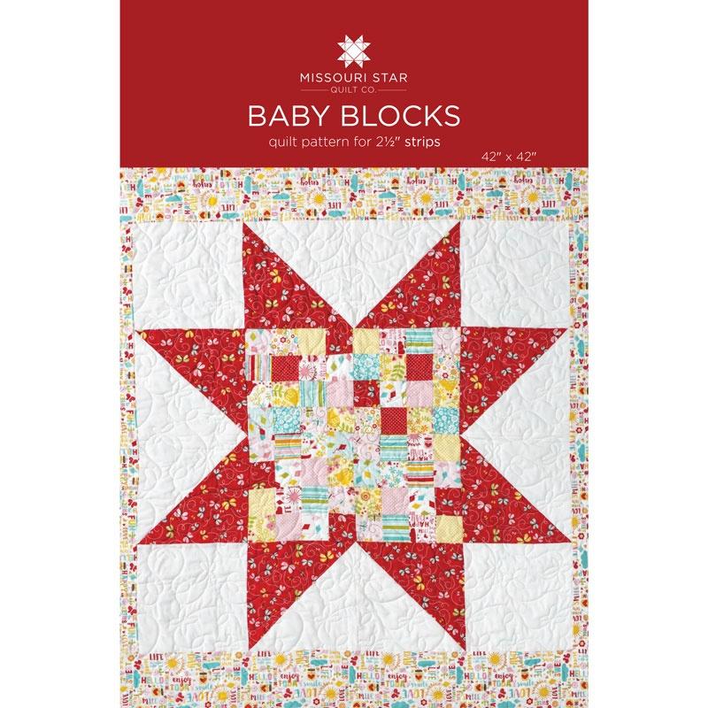 Baby Blocks Quilt Pattern.Baby Blocks Quilt Pattern By Missouri Star