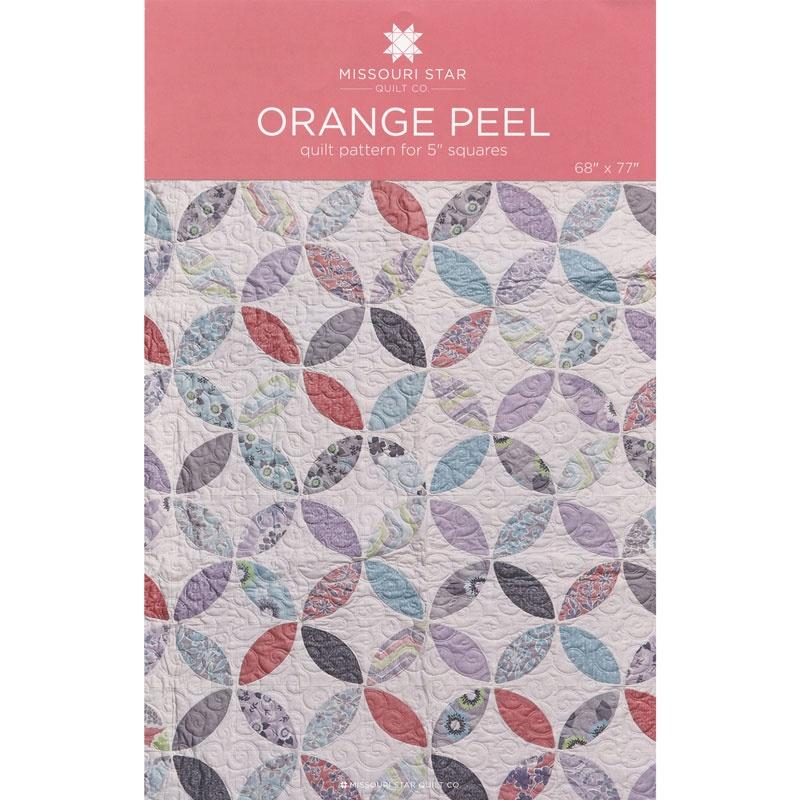 Orange Peel Quilt Pattern by MSQC - MSQC - MSQC — Missouri Star ... : orange peel quilt - Adamdwight.com