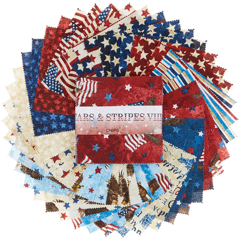 Stonehenge Stars and Stripes VIII Chips
