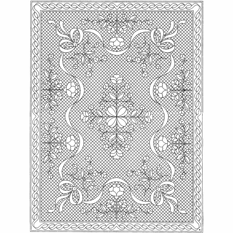 Floral Fantasy Wholecloth Crib Quilt Kit- White - Holice Turnbow ... : whole cloth quilt kits - Adamdwight.com