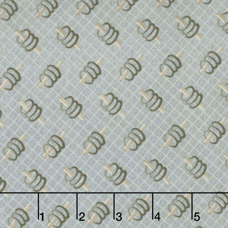 Concrete - Spools Grey Yardage