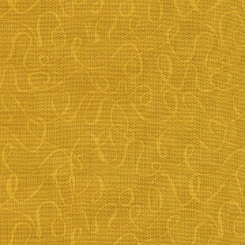 Scribbles - Mustard Yardage
