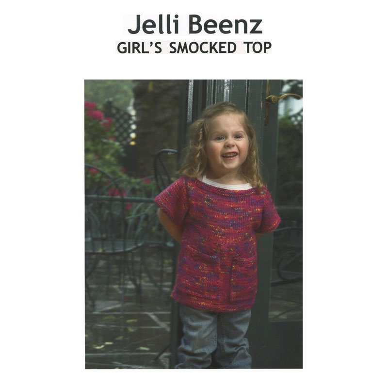 Jelli Beenz Girl's Smocked Top Pattern