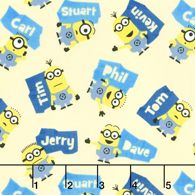 Despicable Me - Millions of Minions Minions & Names Toss Butter ...