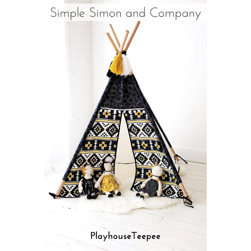 The Playhouse Teepee Pattern