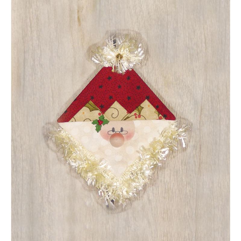 Santa Peppermint Cheesecake Ornament Kit