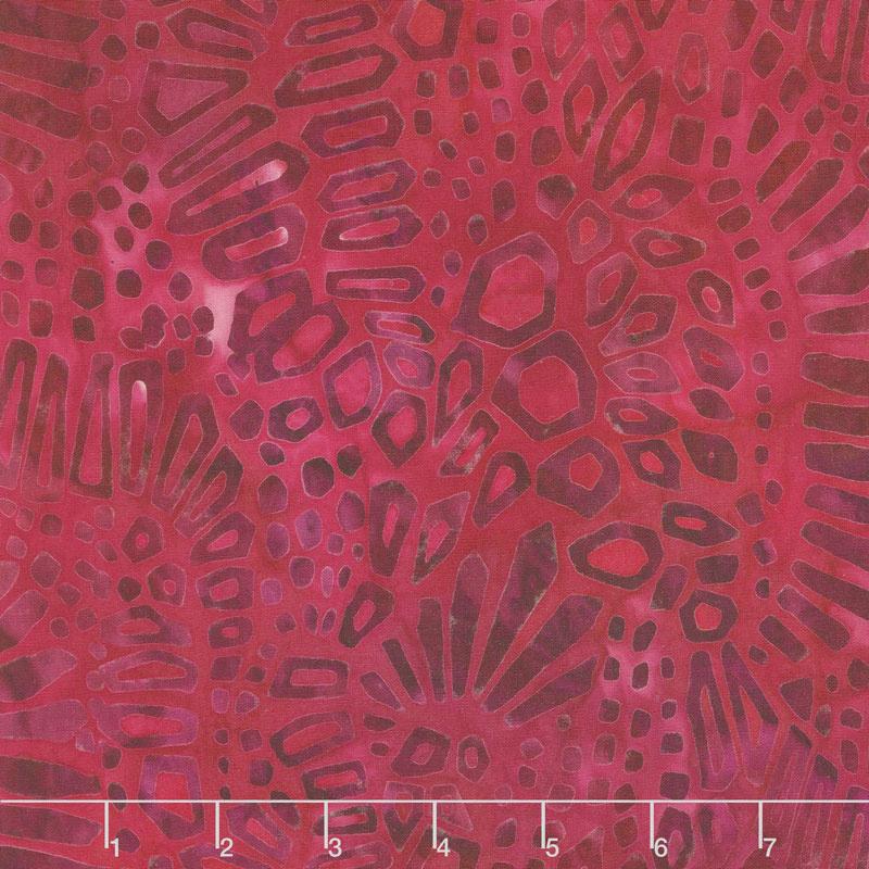Artisan Batiks - Artful Earth Shapes Fuchsia Yardage