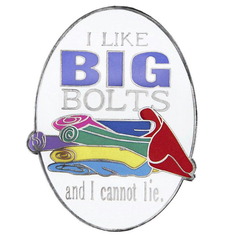 Big Bolts Pin