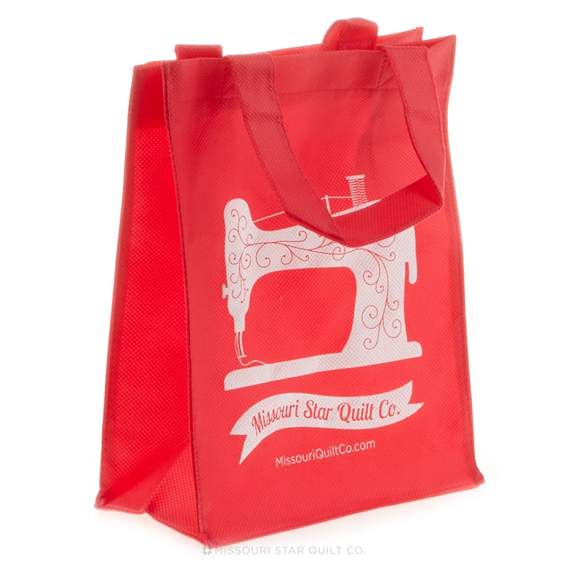 Missouri Star Small Shopping Tote Red
