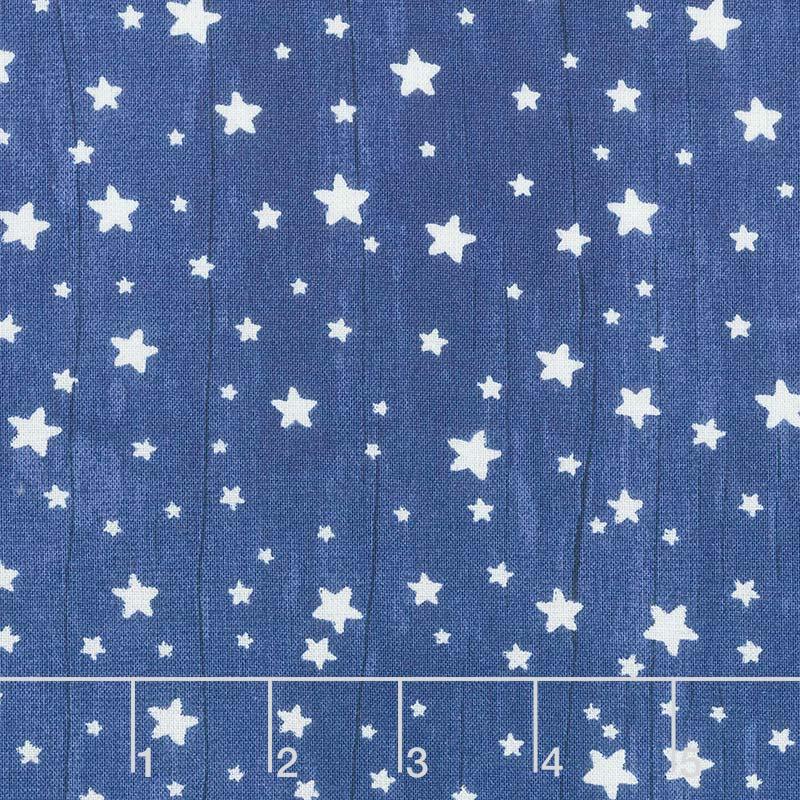 All Our Stars - Stars Navy Yardage
