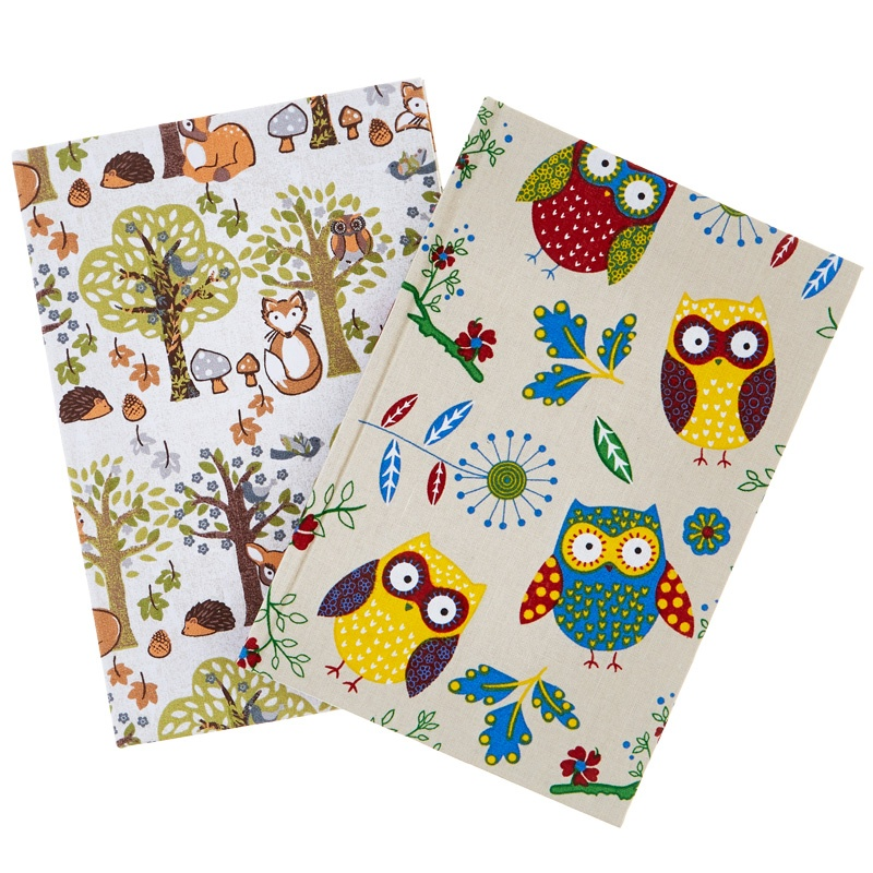 Fabric Covered Notebook - Large