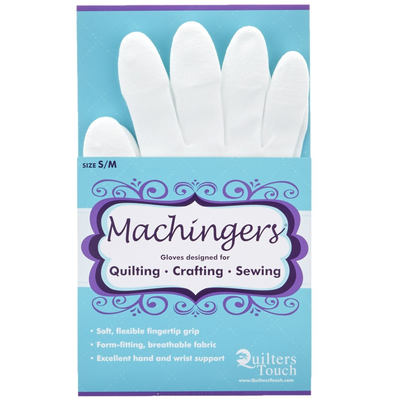 Machingers Quilting Gloves Small/Medium - Quilters Touch ... : quilting gloves - Adamdwight.com