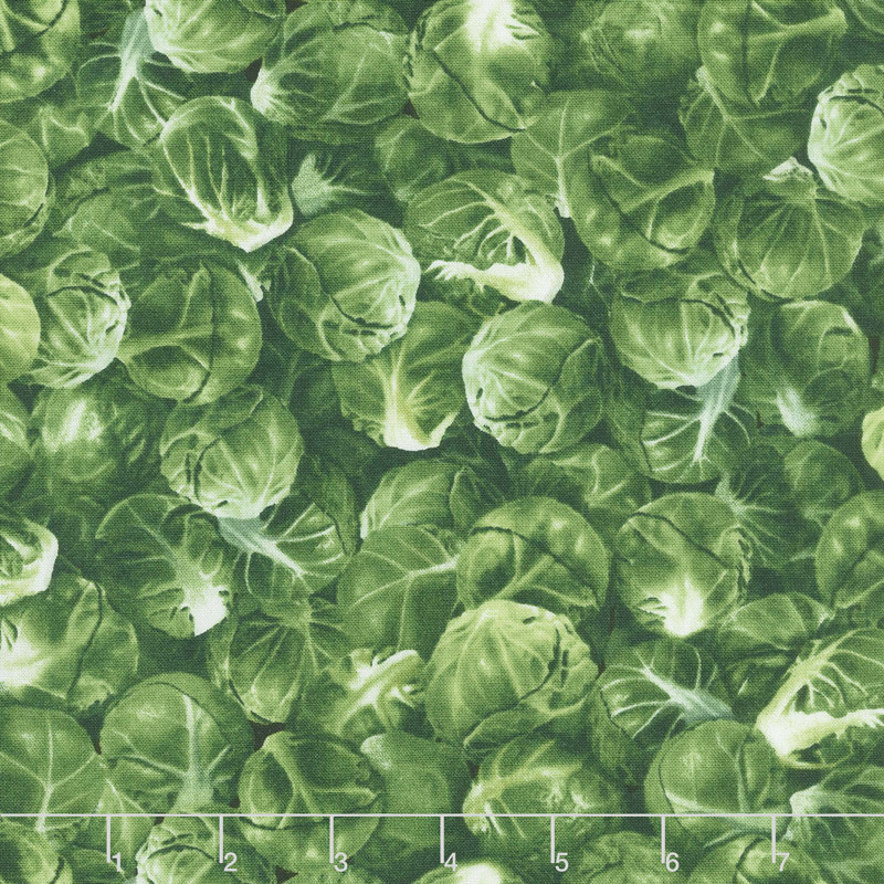 Novelty - Brussel Sprouts Green Yardage