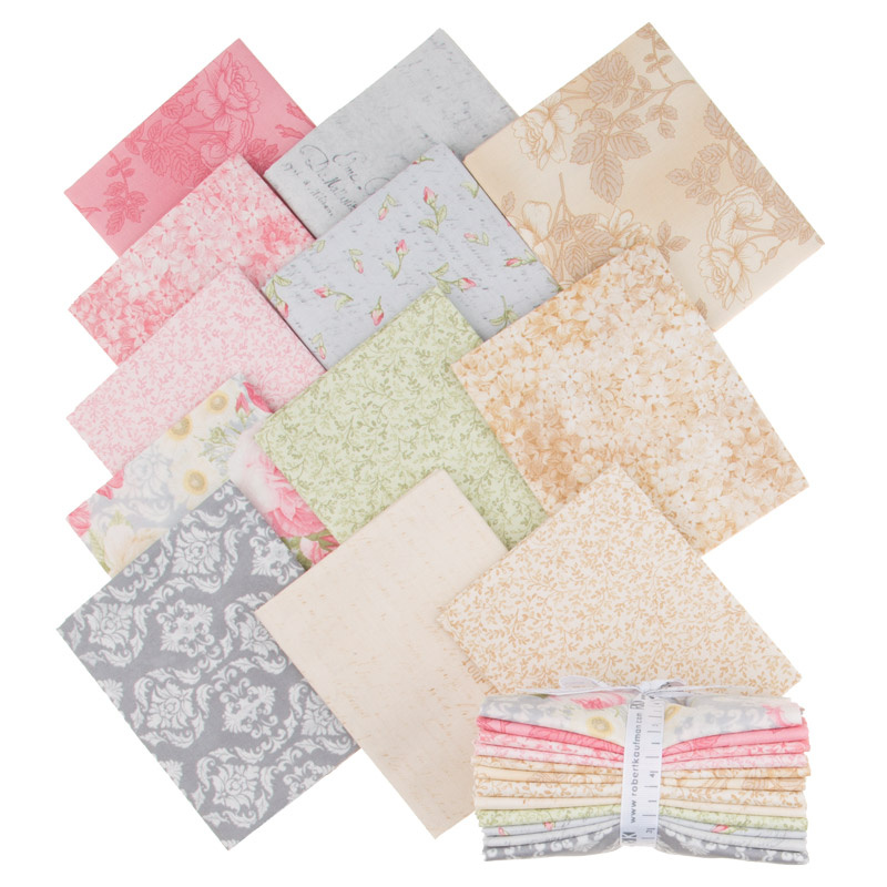 Paris Romance Antique Fat Quarter Bundle