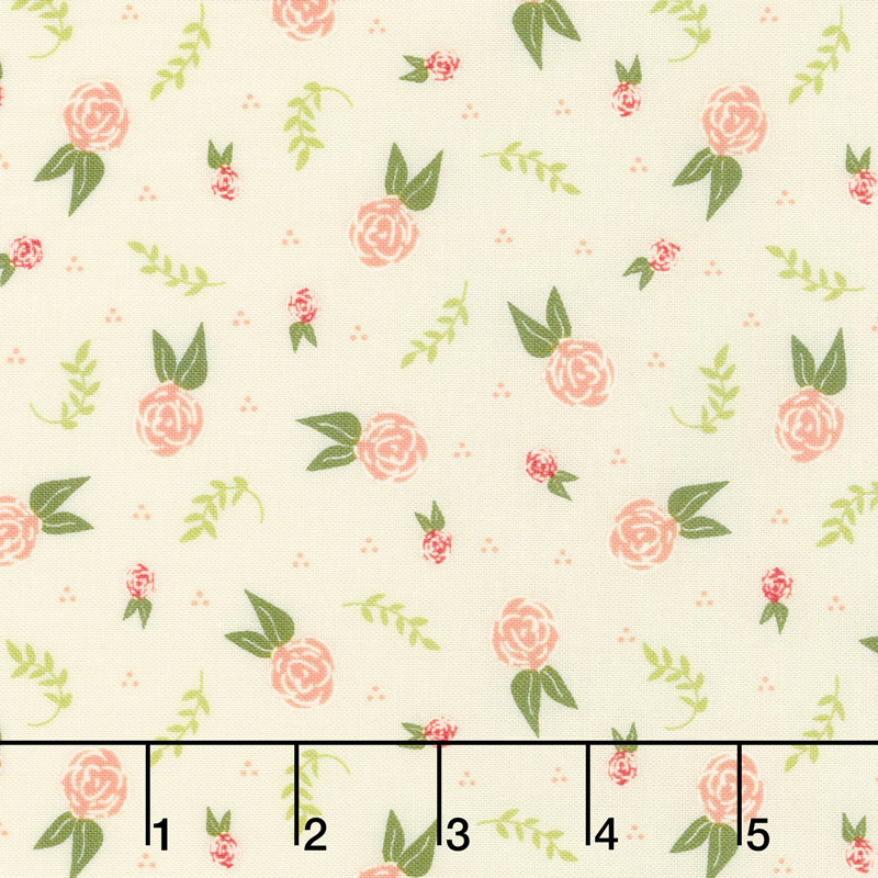 Clover Hollow - Dreamy Ivory Yardage