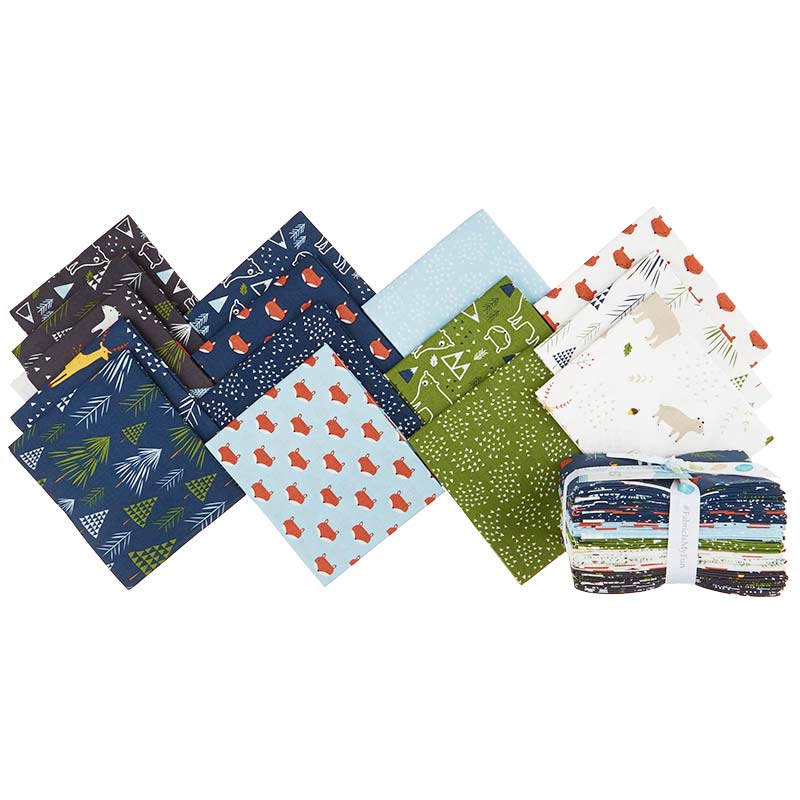 In the Forest Fat Quarter Bundle