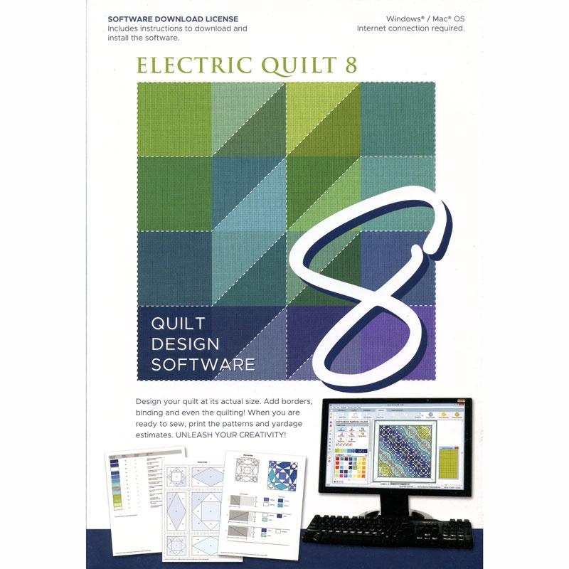 Electric Quilt 8 Design Software - Electric Quilt Company ... : electric quilt company - Adamdwight.com