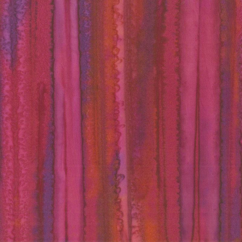 Parfait Batiks - Raspberry Yardage