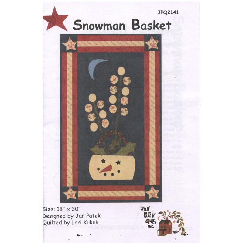 Snowman Basket Pattern