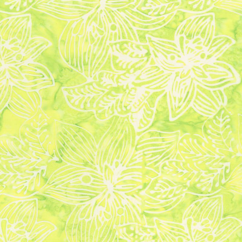 Calypso Batiks - Orchid Citron Yardage