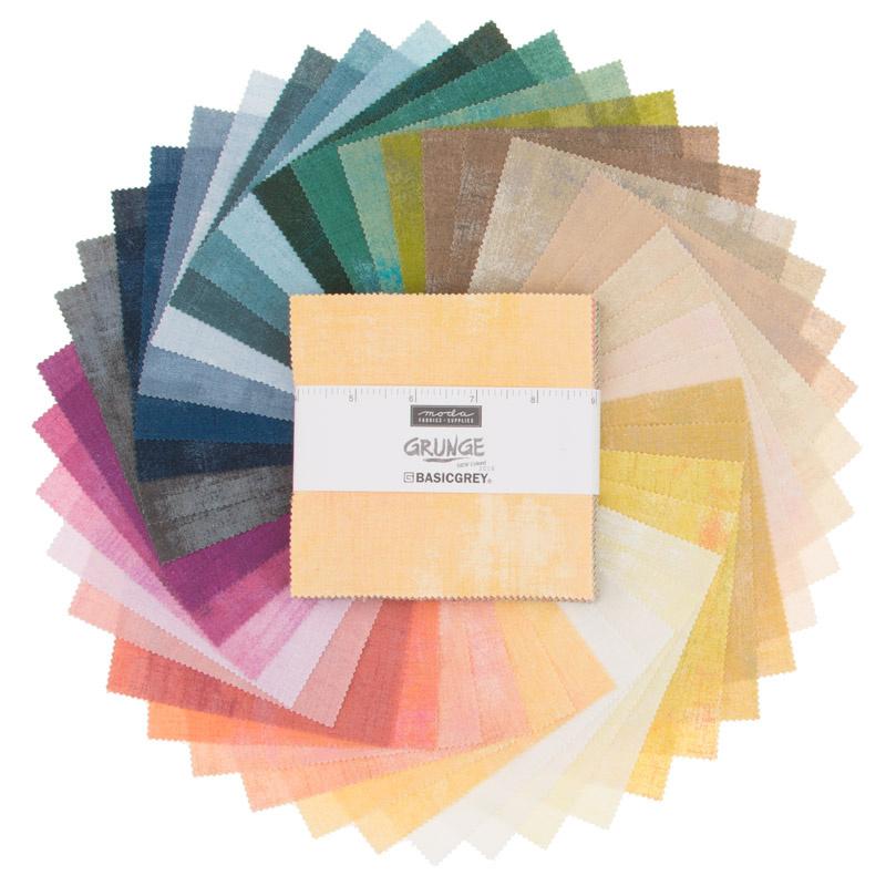 Grunge Basics New Colors 2018 Charm Pack