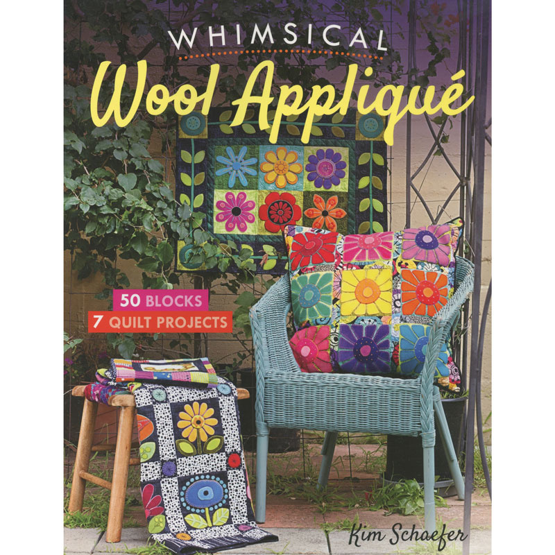 Whimsical Wool Appliqué Book