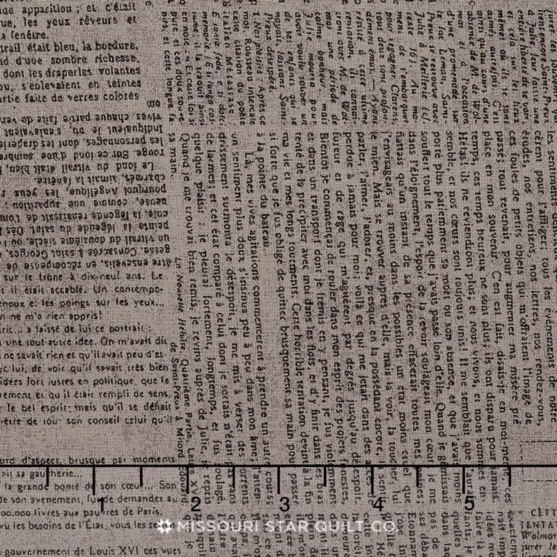 Compositions - Newsprint Stone Yardage