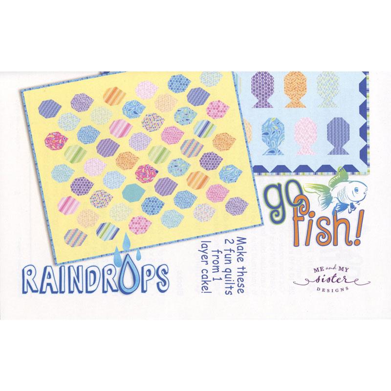 Go Fish & Raindrops Pattern