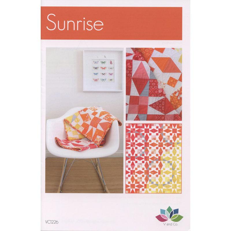 Sunrise Quilt Pattern