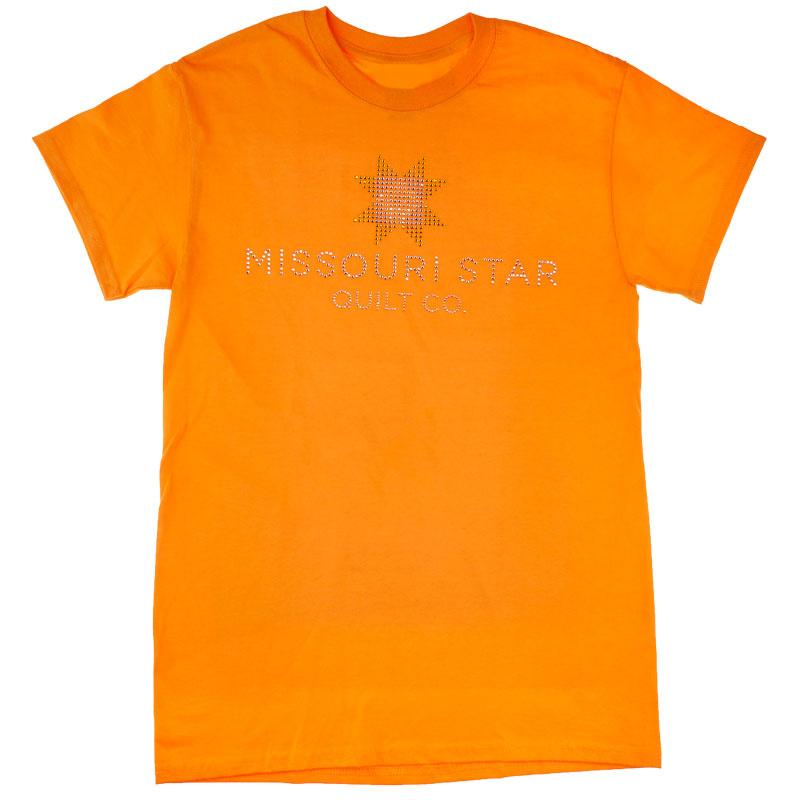 Missouri Star Bling Tangerine T-Shirt - 5XL