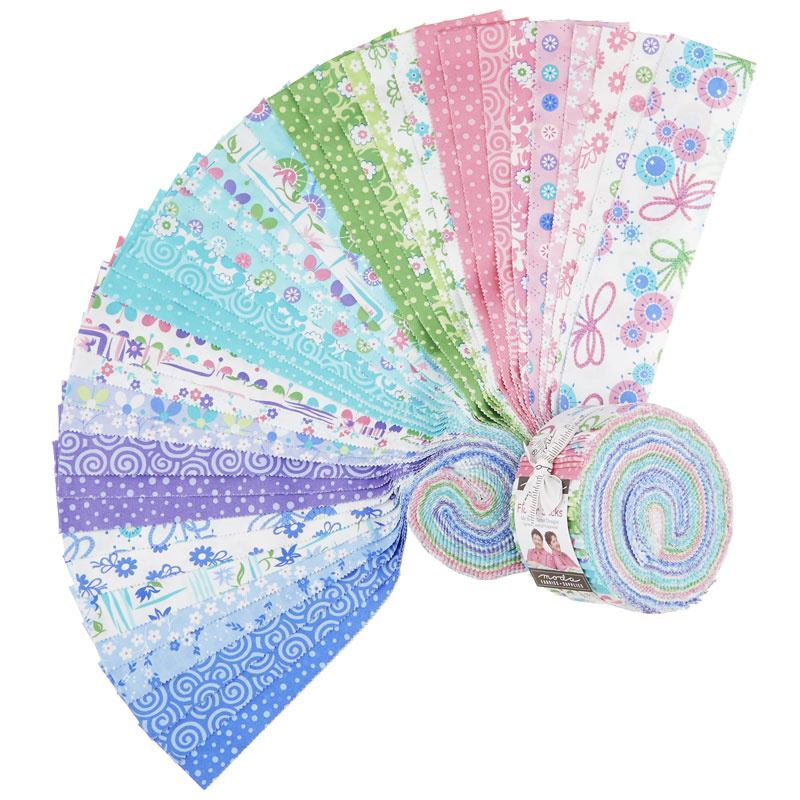 Flower Sacks Jelly Roll
