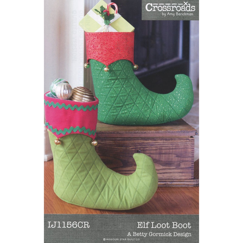 Elfin Loot Boot Pattern