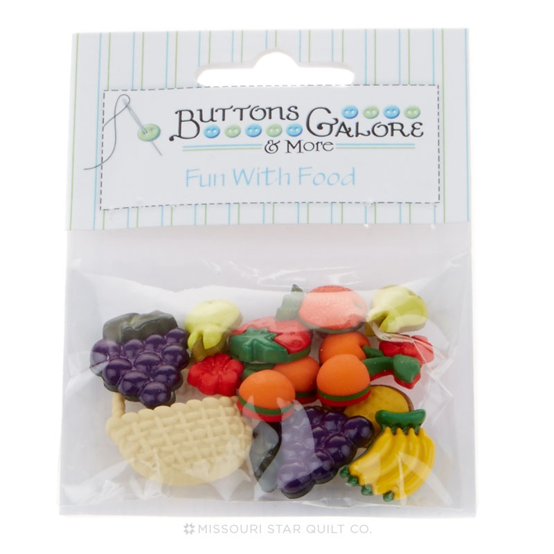 Button Bag - Fruit Basket