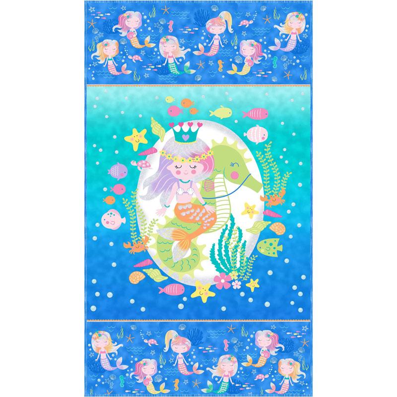 Mermaid Wishes Kit Northcott Fabrics Northcott