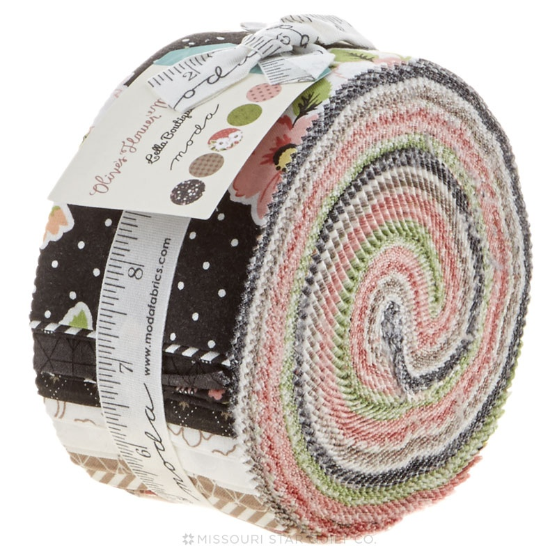 Olive's Flower Market Jelly Roll