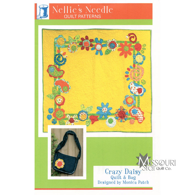Crazy Daisy Quilt and Bag Pattern