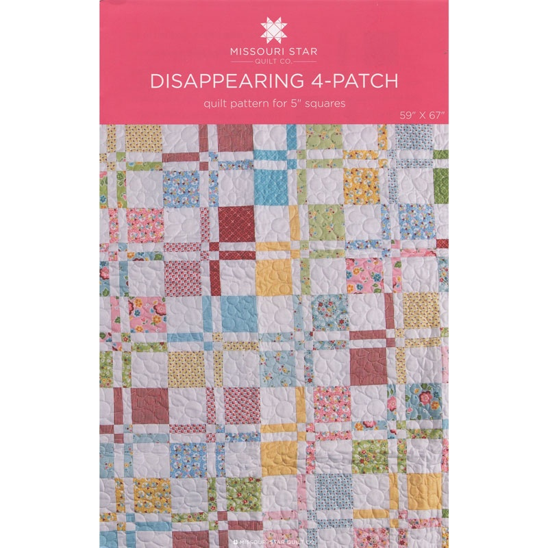 Disappearing 4-patch Quilt Pattern by MSQC - MSQC - MSQC ... : disappearing 4 patch quilt patterns - Adamdwight.com