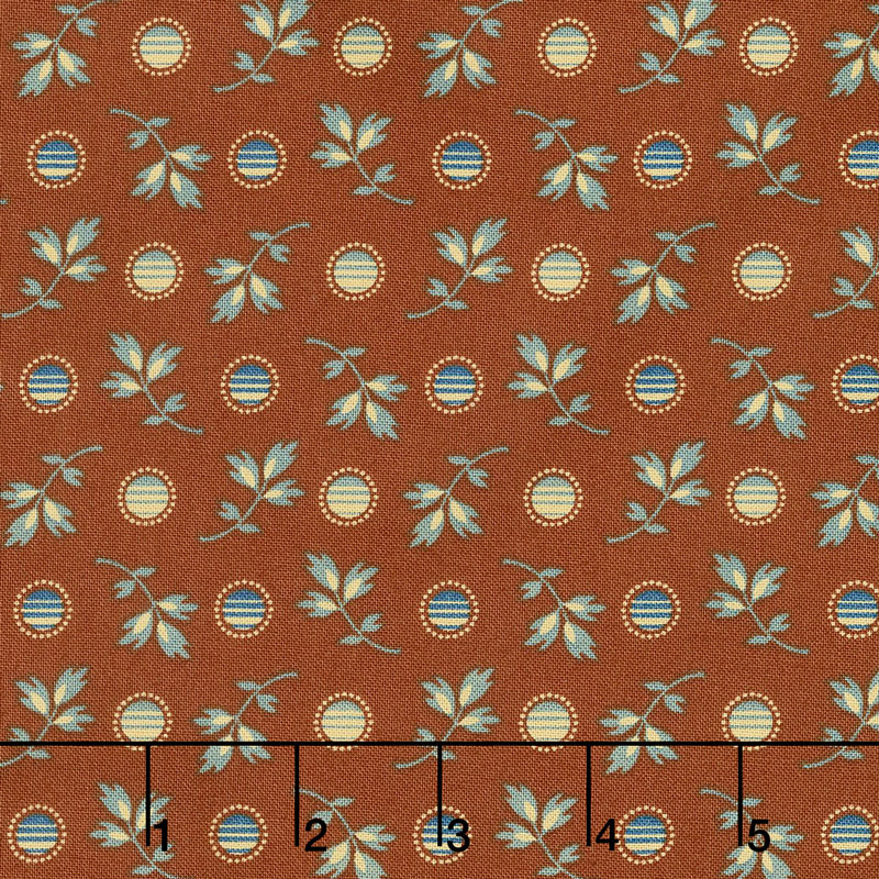 Pioneer Brides - Goldfield Antique Red Yardage