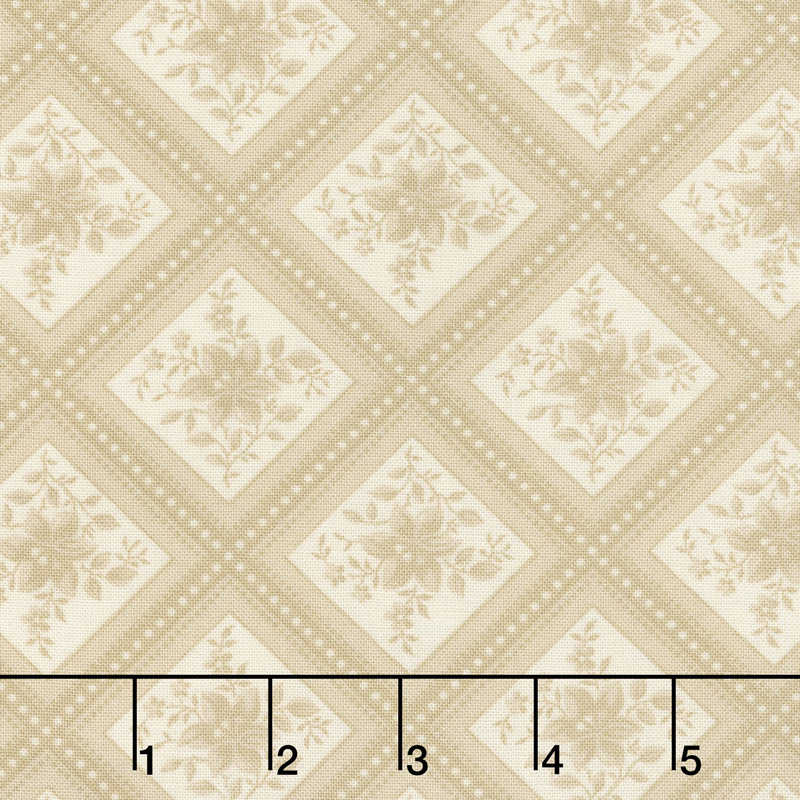 Cinnaberry - Check Vanilla Yardage