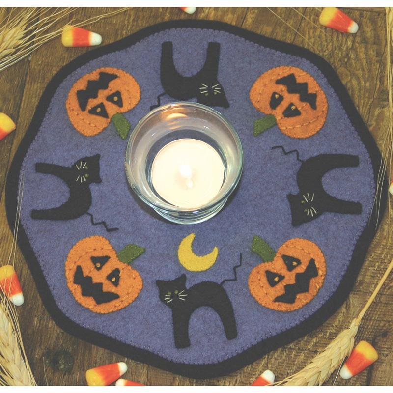Halloween Candle Mat Kit