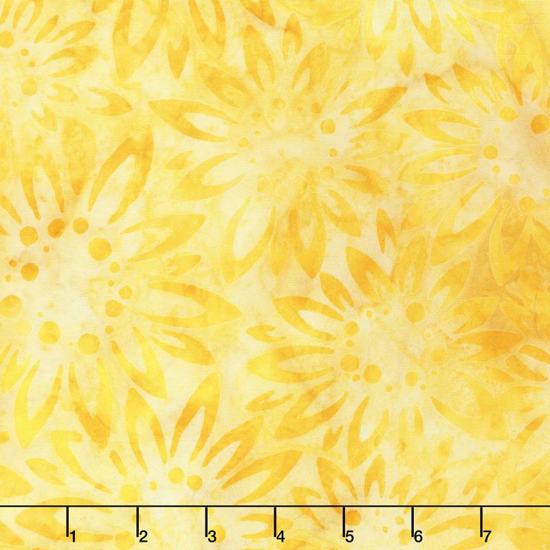 Artisan Batiks - Sunny Day Sunflowers Yardage