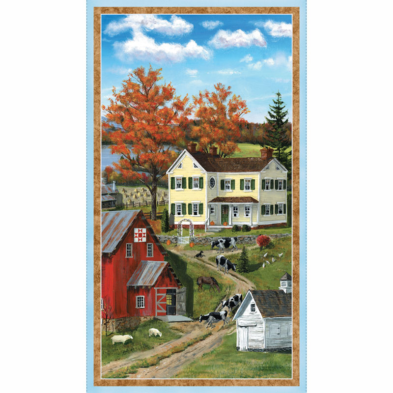 Autumn Grove - Large Multi Panel