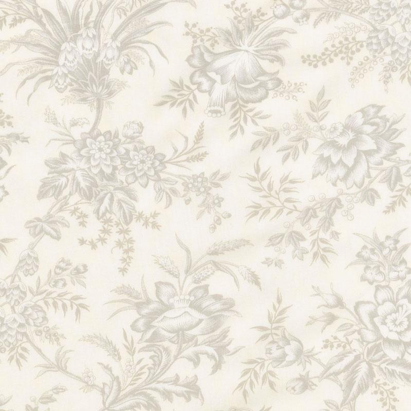 Snowberry - Floral Toile Snow 108