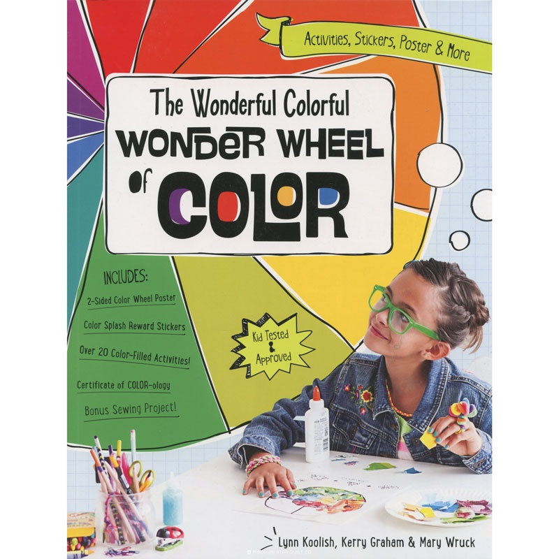 The Wonderful Colorful Wonder Wheel of Color Book - FunStitch Studio